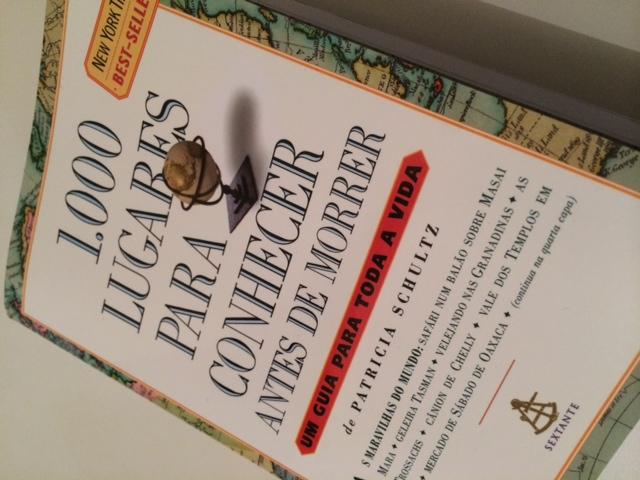 Livros de viagem - 1000 lugares para conhecer antes de morrer