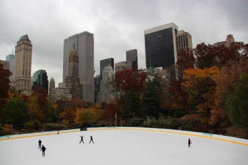 Rink de Patinação no Central Park