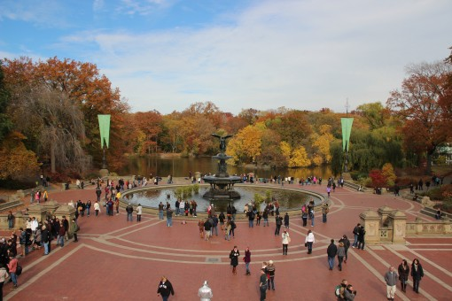 Fonte no Central Park