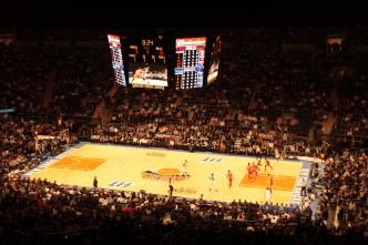 Jogo de basquete Madison Square Garden
