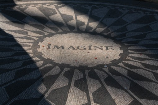 Mosaico Imagine no Strawberry Fields, Central Park