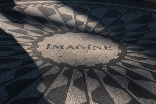 Mosaico Imagine no Strawberry Fields, Central Park