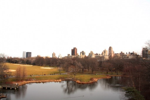 Vista do Belvedere Castle