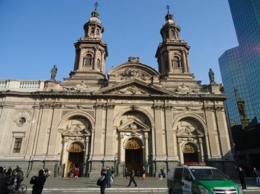Catedral na Praça das Armas