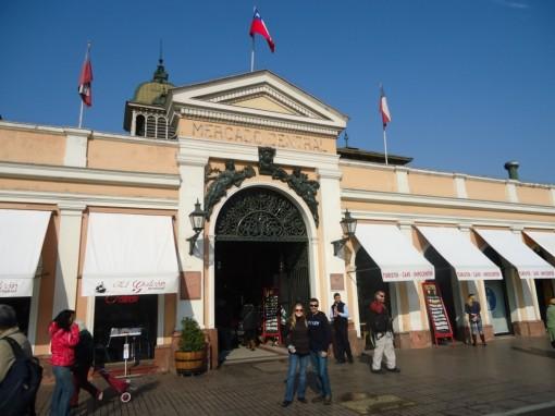 Fachada do Mercado Central