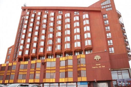 Vista do Hotel Puerta del Sol