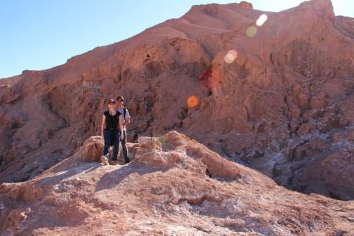 Escalando as cavernas de sal