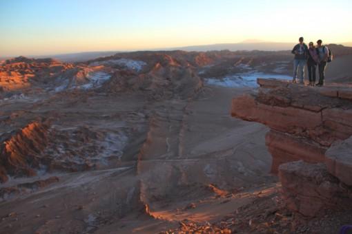 Pedra em balanço no Valle da Morte