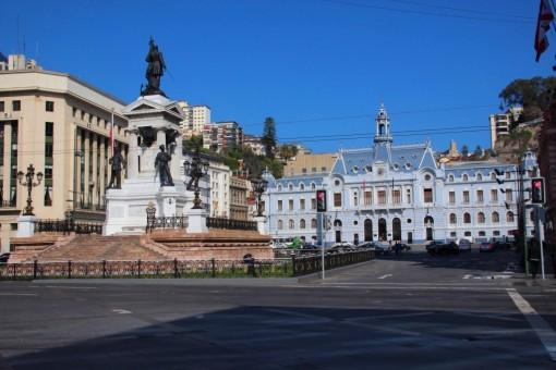 Monumento e Aramada do Chile