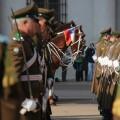 Cavalaria na troca da guarda