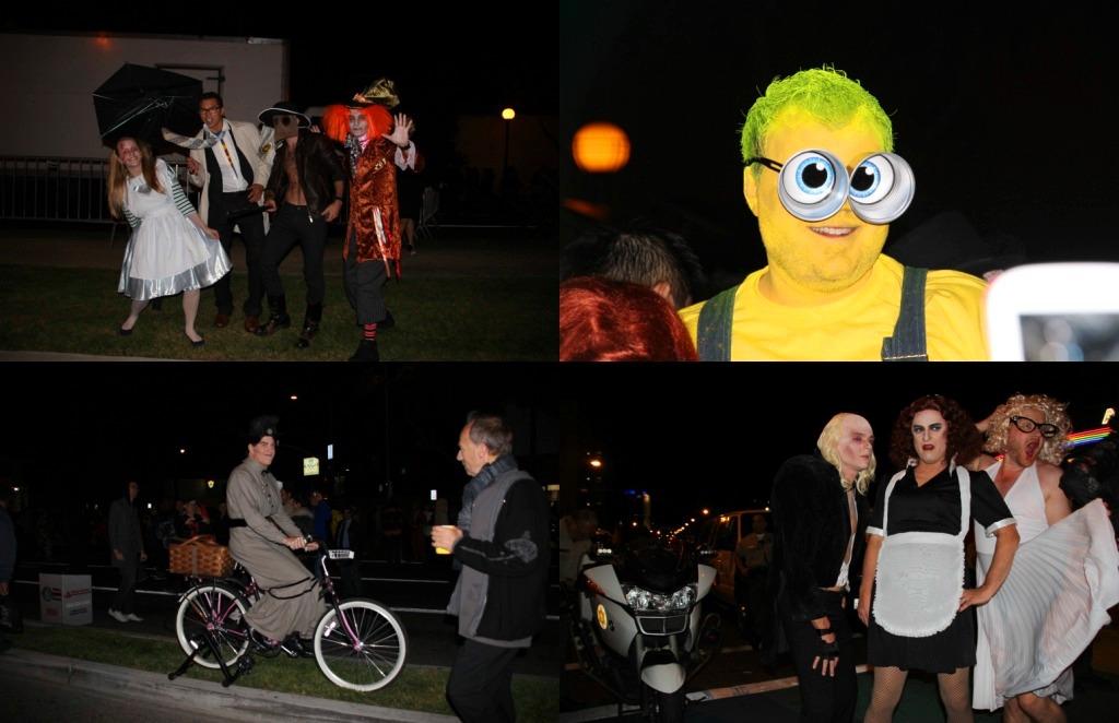 Fantasias na festa de Halloween 1
