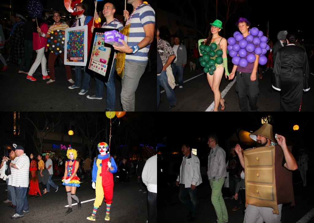 Fantasias na festa de Halloween 2
