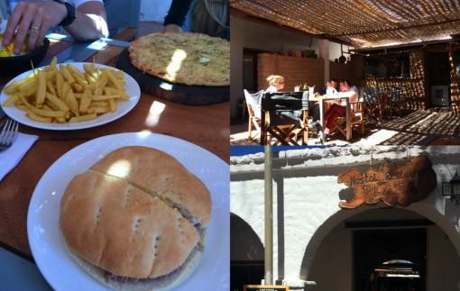 Hamburger e Pizza no La Plaza