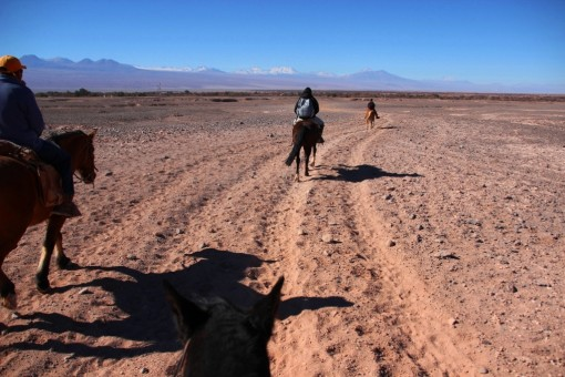 Voltando para San Pedro de Atacama