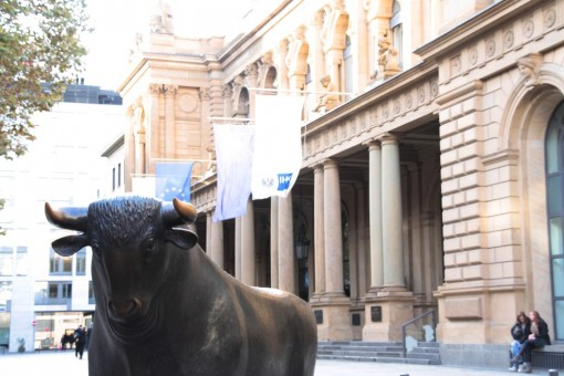 Touro da Bolsa de Frankfurt