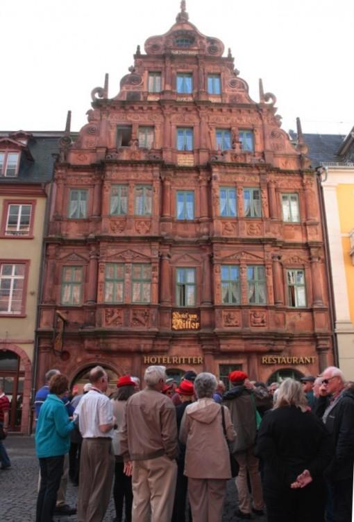 Hotel construído em 1592 que sobreviveu a diversos bombardeios