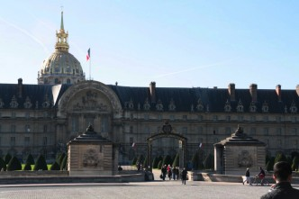 Fachada do Les Invalides