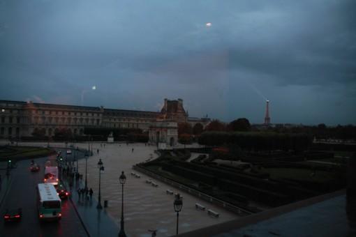 De dentro do Louvre