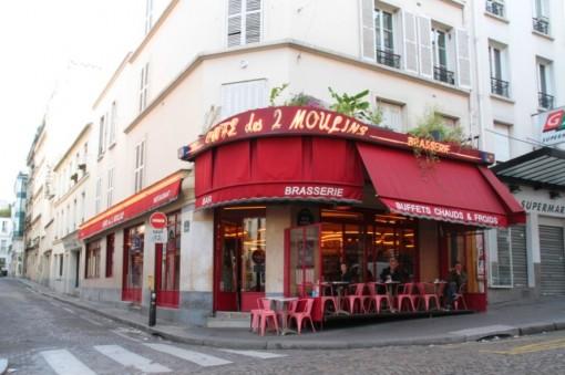 Café onde trabalhava a personagem Amélie Poulain