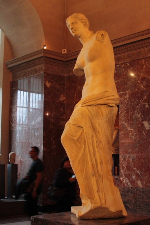 Vênus de Milo dando uma de João sem braço. (Ok, piadinha terrível)