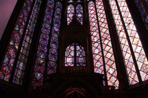 Ah!! Essa sim é a verdadeira Saint Chapelle. E me deixou de boca aberta.