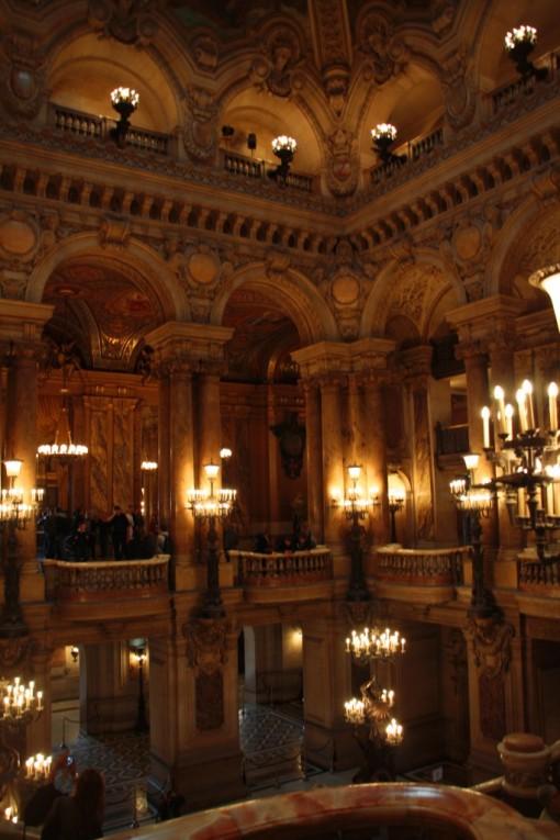 Hall de entrada da ópera