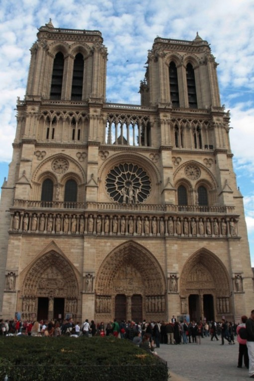 A imponente Notre Dame
