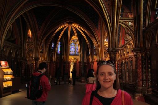 Olha eu achando que essa era a Saint Chapelle. Bobinha