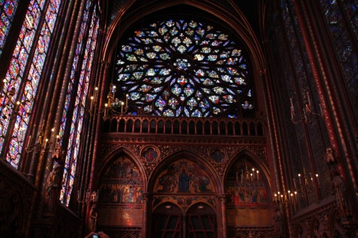 Saint Chapelle fundos