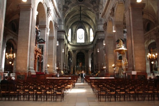 Saint Sulpice Nave