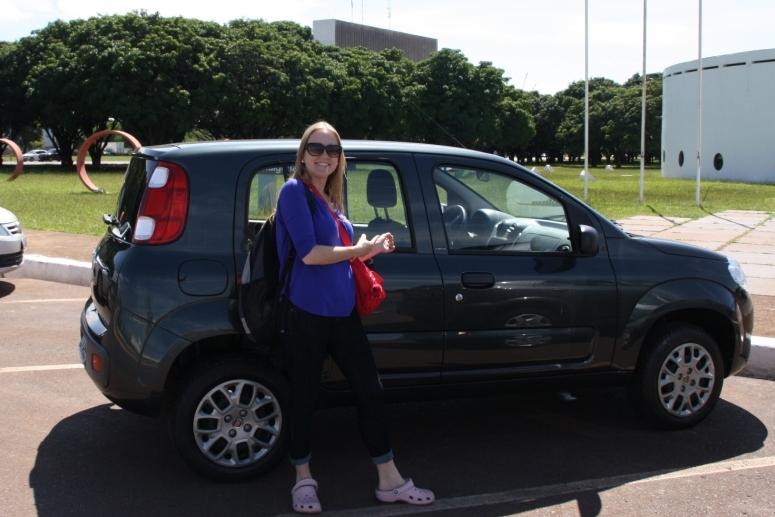 A Bruninha e o UNO Turismo em Brasília
