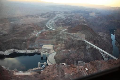 A represa de Hoover Dam