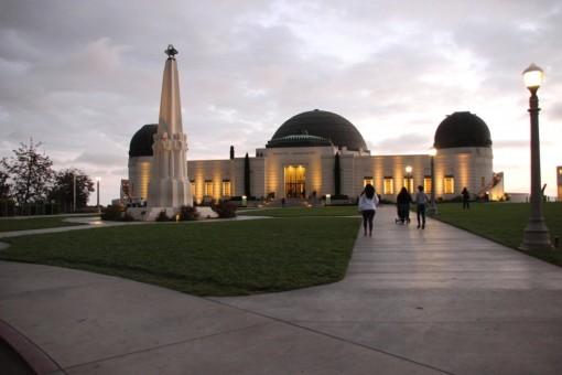 O Griffith Observatory é um lugar muito legal pra quem gosta de astronomia