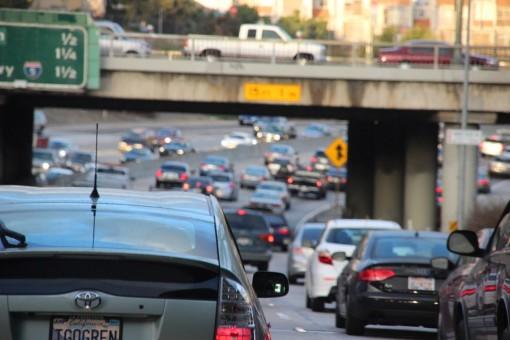 Um pouquinho do trânsito de Los Angeles
