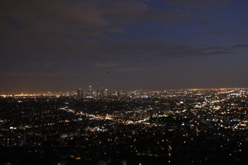 Vista do Griffith Observatory