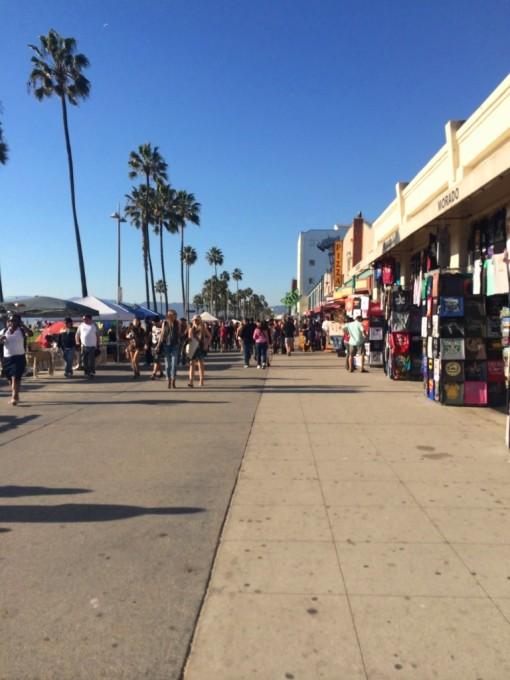 Os calçadões de Venice Beach e seus artistas