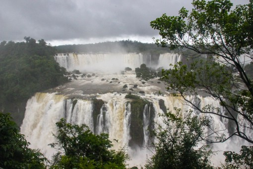 Quedas d'água das Cataratas do Iguaçu