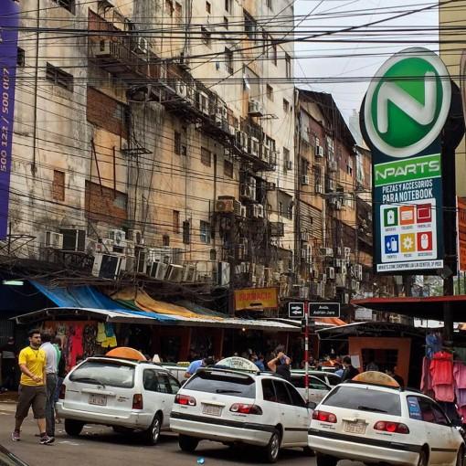 """""""Os eletricista pira"""" nas modernas instalações paraguaias"""