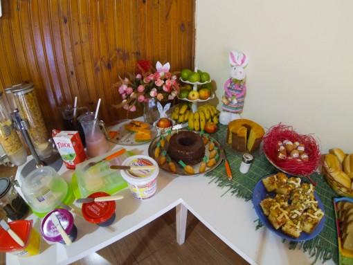 Cafézão de domingo de Páscoa!