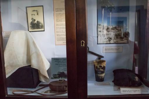 Peças da Revolução Federalista no Museu Histórico