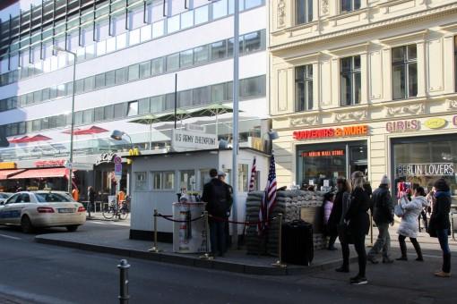 POsto de passagerm Checkpoint Charlie