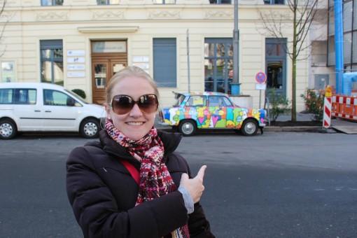 Se você não conhecia, esse é o Trabant. Esse tá no estilo Romero Britto.
