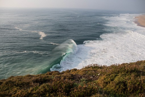 Lugares para conhecer em Portugal - Ondas gigantes em Nazaré