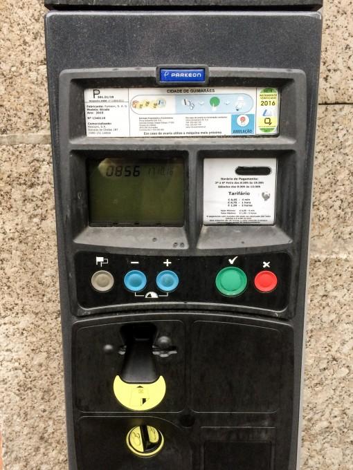 Dicas de Portugal - Quando estacionar não esqueça de verificar se é Livre ou Pago