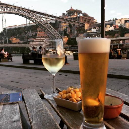 Vinho e Cerveja no Porto