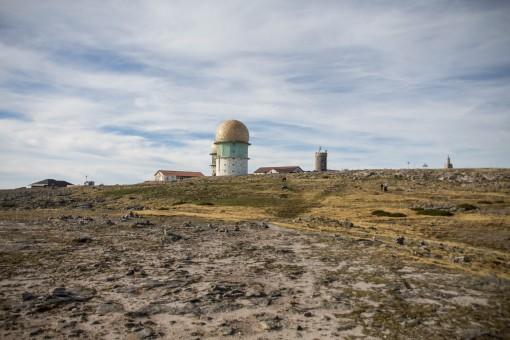 Construção abandonada em Torre