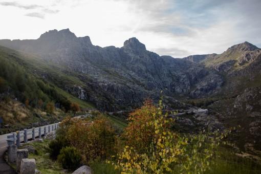 Lugares para conhecer em Portugal - Caminho cheio de árvores e rochas