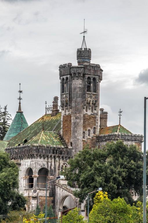 Castelo da D. Chica em Braga. Hoje está abandonado.
