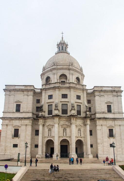 Panteão Nacional, igreja transformada em monumento nacional.