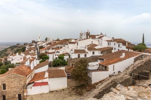 Monsaraz vista do casteloMonsaraz vista do castelo